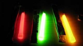 Cyalume lightstick test