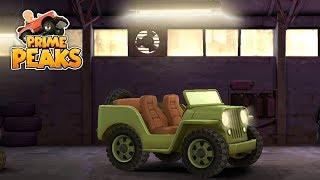 Супер крутое прохождение игры Prime Peaks машинки мультики гонки новые мультфильмы для детей