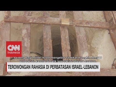 Terowongan Rahasia di Perbatasan Israel-Lebanon