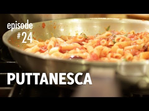 Puttanesca Recipe, Penne, Spaghetti, Pasta – How to Make the Authentic Classic Italian Dish