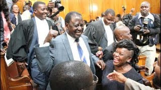 Raila Odinga's grand return as Supreme Court retire to make second verdict on petition