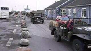 preview picture of video 'Militære Veterankøretøjer, 4. maj 2005, Dragør Havn'