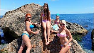 ОДЕССА / Идем на Пляж / МНОГО МОРОЖЕНОГО !! BEACH TIME and ICE CREAM DAY