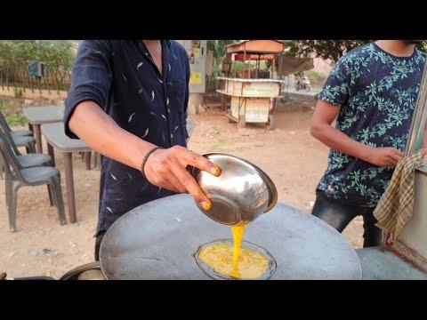 Kashmiri Omelette  Curry || Samrat Omelette Center || Indian Street Food