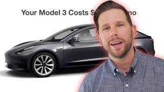 Tesla Model 3 Monthly Cost