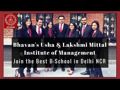 Bharatiya Vidya Bhavan's Usha & Lakshmi Mittal Institute of Management video cover1