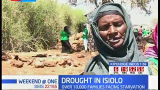 Over 10,000 families in Isiolo county have been forced to shift to another area due to drought