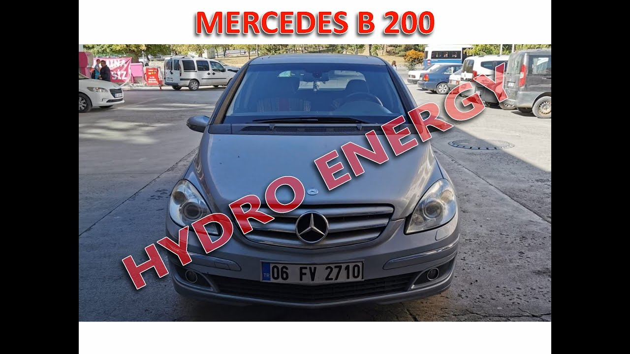 Mercedes B 200 hidrojen yakıt sistem montajı