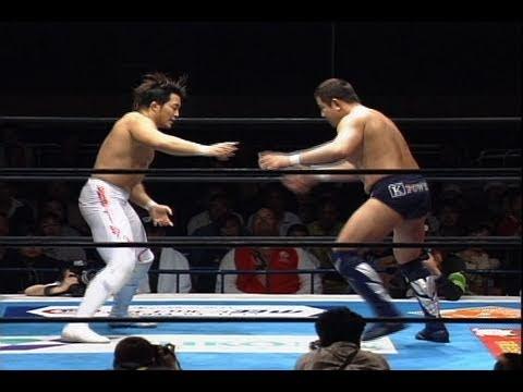 Hiroshi Tanahashi vs. Yuji Nagata NJPW's New Japan Cup 2006 |
