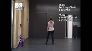 CUMBIA SEMANA - BAILES EN LINEA - Gente Mayor/ Senior LineDance (Instrucciones+Baile)