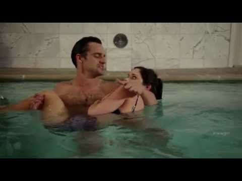 Zooey Deschanel Pool Scene