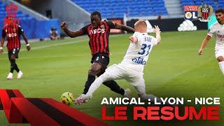 Lyon 1-0 Nice (match amical) Présence de Boudaoui et Atal