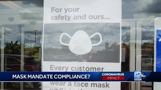 Stores' mask mandates go into effect