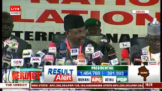 2019 Presidential Election: INEC Announces Kano Results |The Verdict|