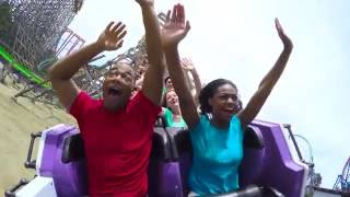 The Joker Makes its Mark at Six Flags Discovery Kingdom