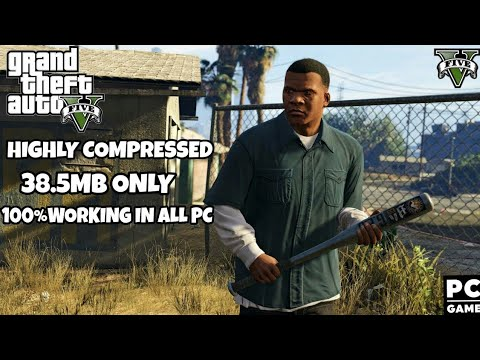 GTA V (Fitgirl Repack) Highly Compressed Just 38 MB