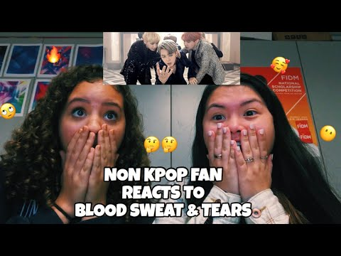 NON KPOP FAN REACTS TO BTS (방탄소년단) BLOOD SWEAT AND TEARS '피 땀 눈물 FOR THE FIRST TIME