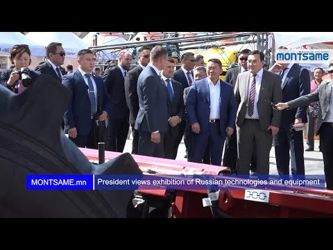 President views exhibition of Russian technologies and equipment