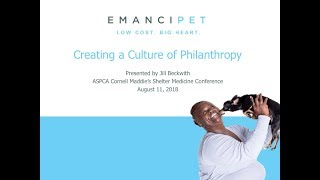 Creating a Culture of Philanthropy - conference recording