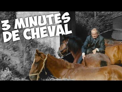 3 minutes de cheval avec Louis de Funès !