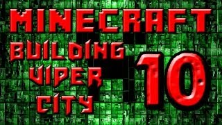 preview picture of video 'Minecraft Building Viper City Part 10 - Little Hanging Houses'