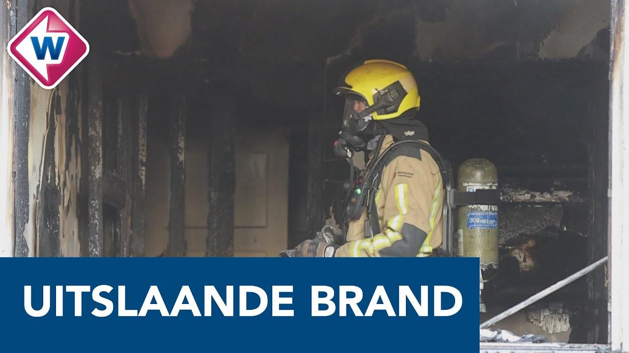 Veel schade bij brand Maartensdijklaan Den Haag