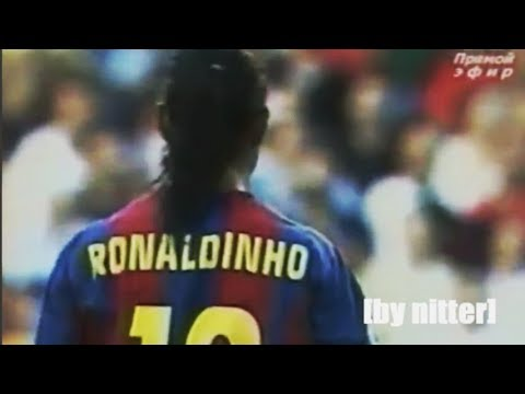 Ronaldinho vs CD Numancia 2004-2005 [by nitter]