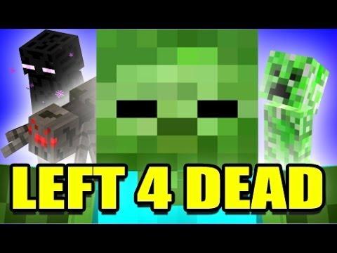 L4D MINECRAFT ZOMBIE MOBS Mod! (Left 4 Dead 2)