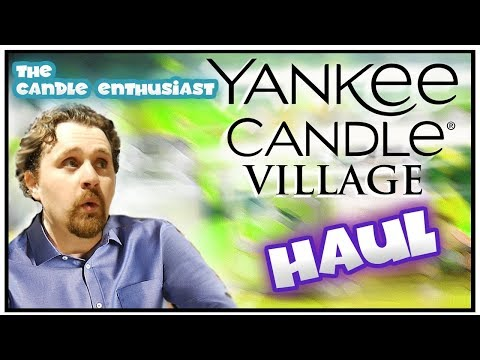 Yankee Candle Village Haul