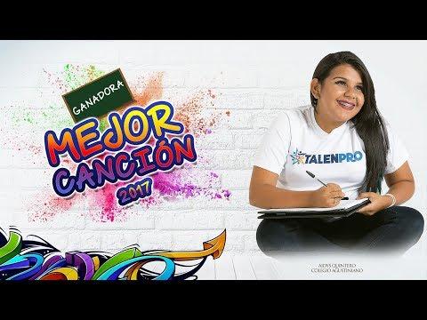 Aidys Quintero - Rendirse Jamás - Final TALENPRO 2017