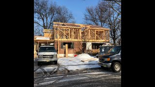 Home Addition Time Lapse - Construction Of Second Level Addition (Plus Interior Renovation)