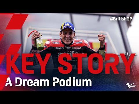 アプリリア初の表彰台に導いたアレイシ・エスパルガロの軌跡をまとめたハイライト動画 MotoGP 2021 第12戦イギリス