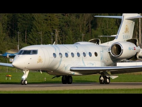 Amazing Short Take-Off Gulfstream G650  - Special Livery