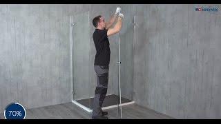 Montaż Kabiny Prysznicowej ESCURA ES13+EST1