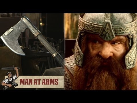 Forging Gimli's Bearded Axe (Lord of the Rings)