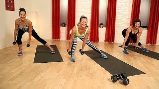 10-Minute Body Toning Workout With Weights | Class FitSugar by POPSUGAR Fitness