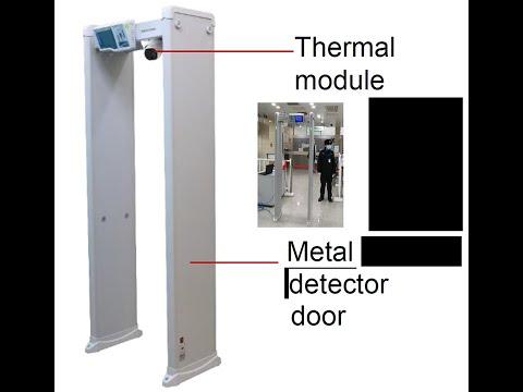 Detector De Metales Con Detección De Temperatura Hikvision - U$S 9.782,00 en Mercado Libre