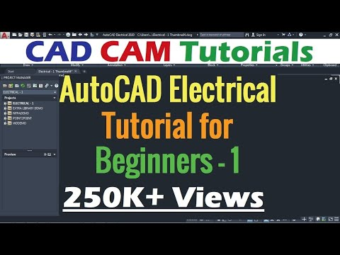 AutoCAD Electrical Tutorial for Beginners - 1