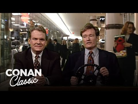 "Christmas Shopping: Desk Drive – ""Late Night With Conan O'Brien"""