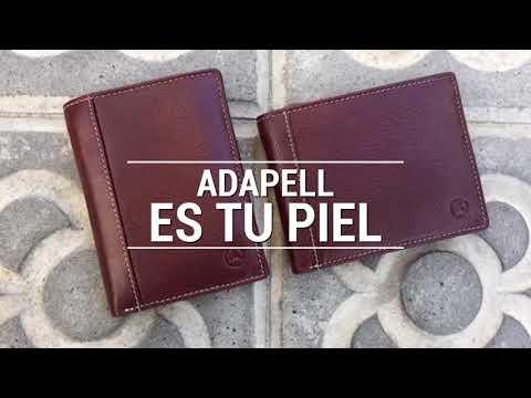 Marroquineria en piel, billeteros, monederos, llaveros, bolsos hombre y mujer   Adapell