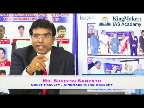 How to prepare for UPSC Essay Paper by Mr.Success Sampath