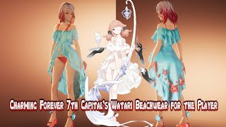 Mod Showcase - Charming Forever 7th Capital's Watari Beachwear for the Player