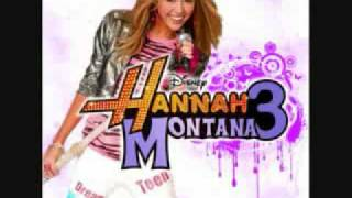 Miley Cyrus- I'm Just A Girl- + Lyrics/ FULL Version (HQ) Hannah Montana 3 NEW SONG