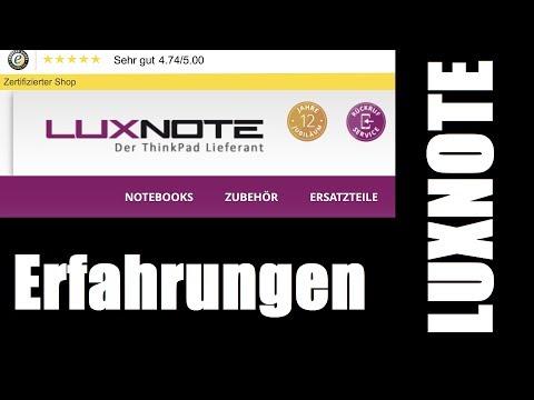 Erfahrungsbericht Luxnote: Refurbished Thinkpad