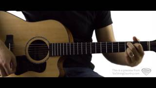 Gone Country Alan Jackson Guitar Lesson and Tutorial