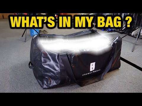 What hockey equipment is inside my bag and why - Hockey Tutorial 2019 edition