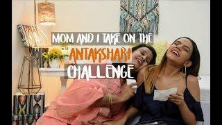 My Mom & I Take On The Whisper Antakshari Challenge! | Komal Pandey