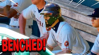 I GOT BENCHED! MLB The Show 20 | Road To The Show Gameplay #48