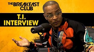 The Breakfast Club - T.I. Speaks On Confronting Kanye West For His Donald Trump Support