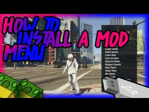 HOW TO INSTALL A GTA 5 MOD MENU WITH A USB! Mp3